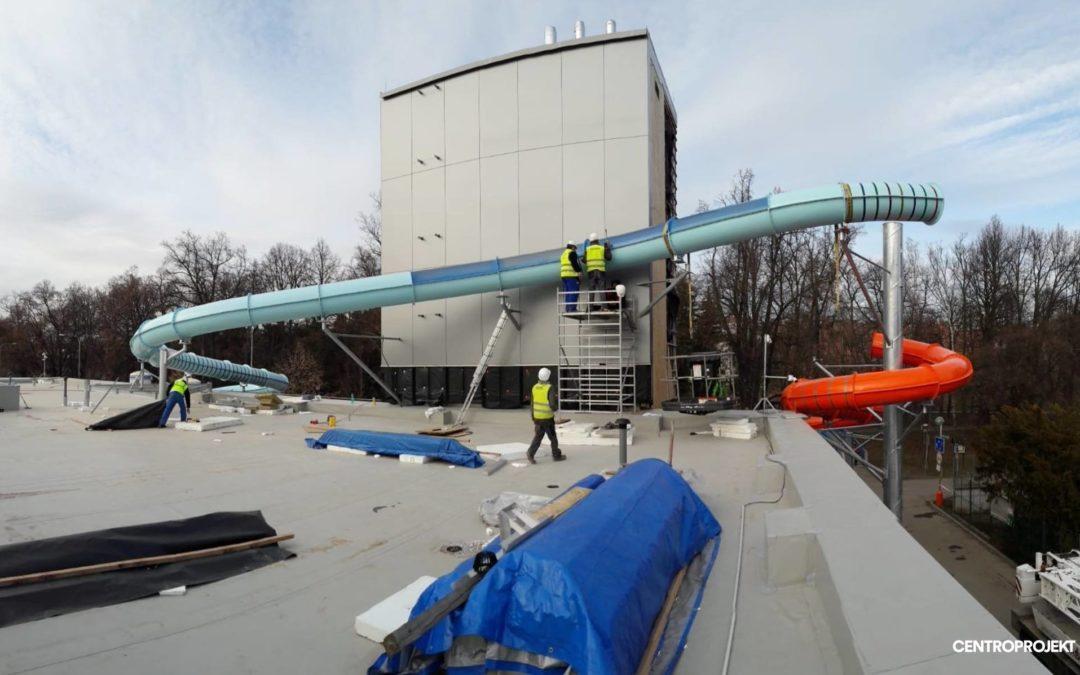 Rekonstrukce městského plaveckého bazénu