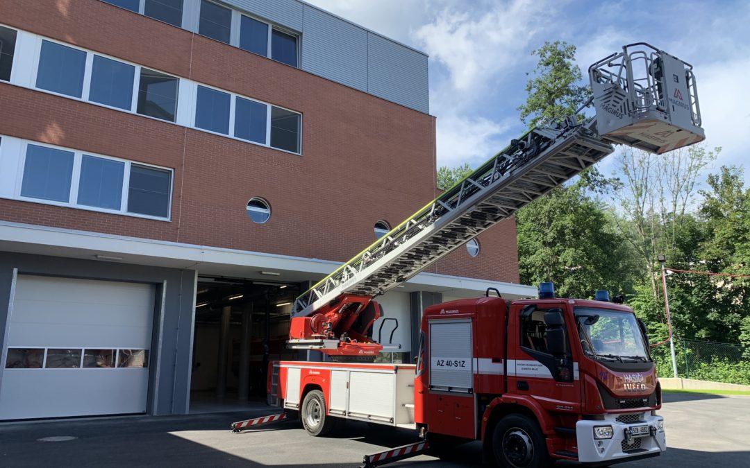 HZS Zlín – kompletní elektroinstalace nové přístavby