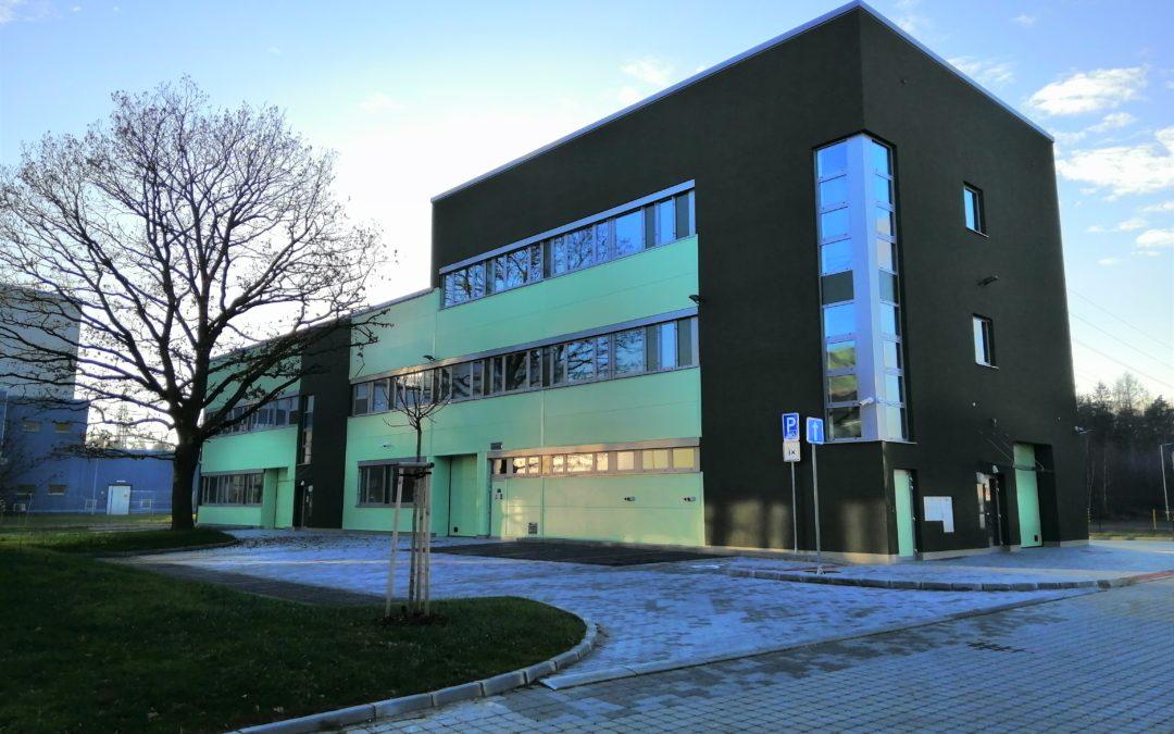 Výstavba nové budovy Vědecko-technologického parku