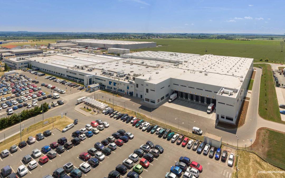 Nová výrobní hala společnosti Continental Automotive