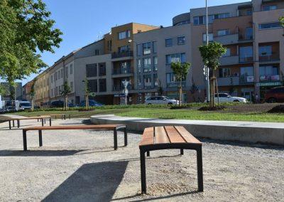 Revitalizace náměstí Míru v Kroměříži