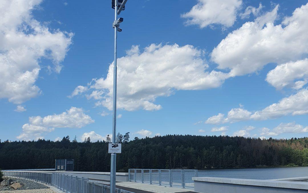 Kamerový systém Vodní nádrž Boskovice
