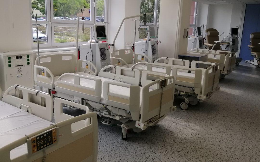 Rekonstrukce hemodialýzy v krajské nemocnici Teplice