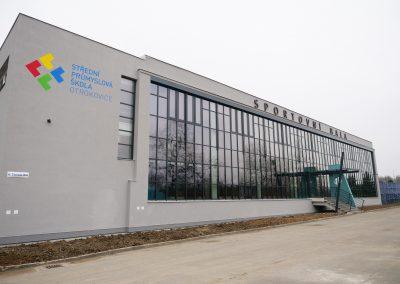 Rekonstrukce sportovní haly SPŠ Otrokovice